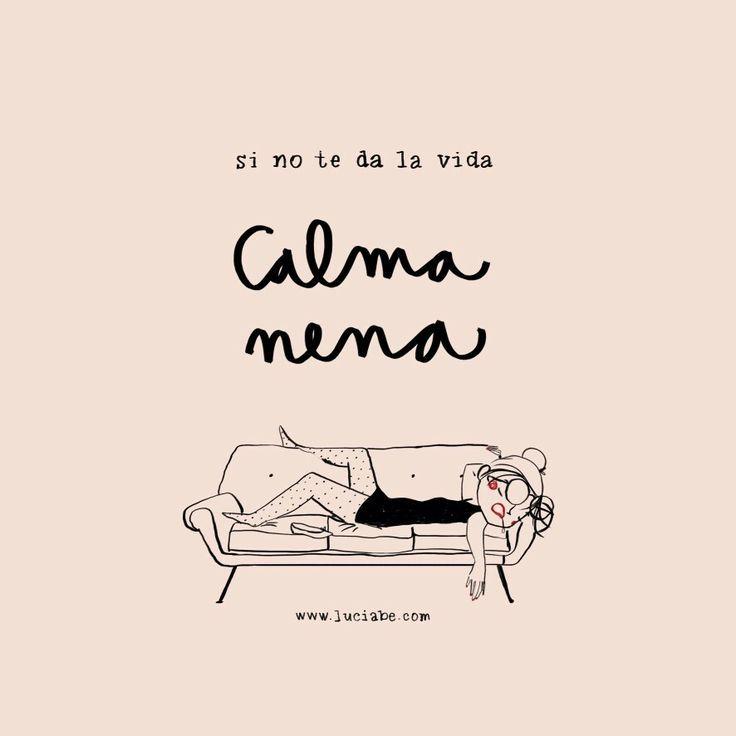 Calma nena - Lucia Bee